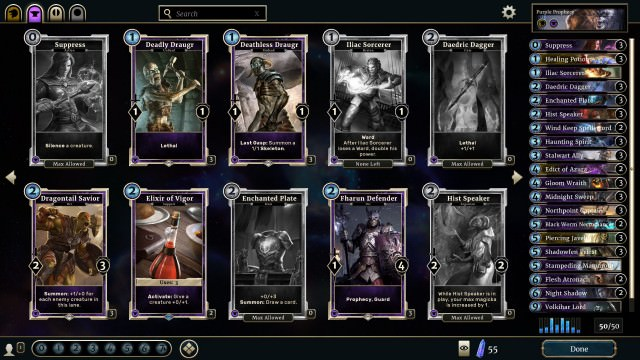 Purple Prophecy Deck