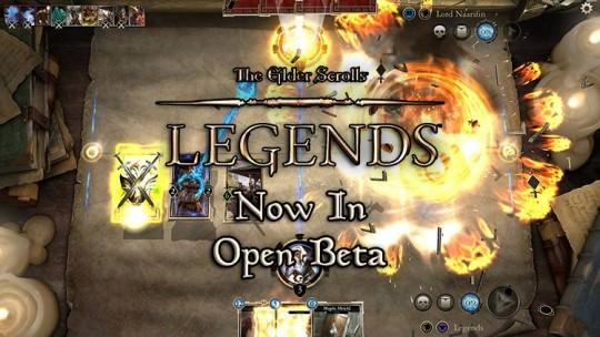 The Elder Scrolls Legends Now in Open Beta