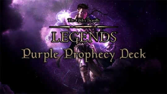 The Elder Scrolls Legends Deck: Purple Prophecy