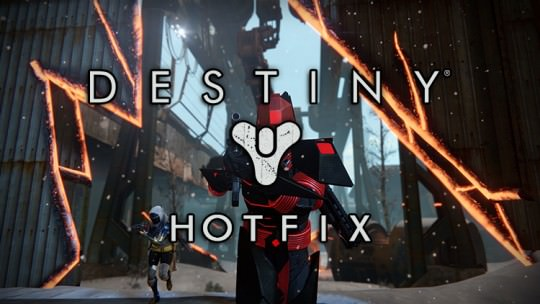 New Destiny Hot Fix Arrives Before Rise of Iron Release