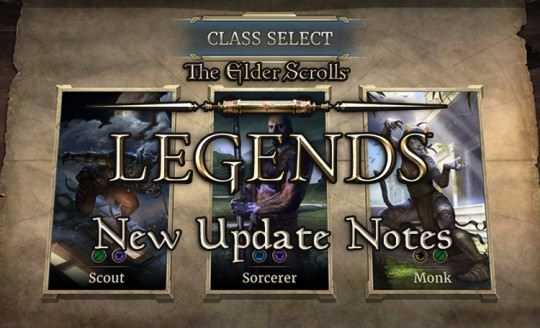 The Elder Scrolls Legends Receiving New Update