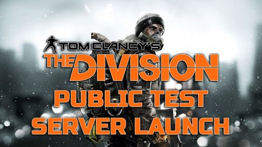 The Division Public Test Server Available Next Monday on PC