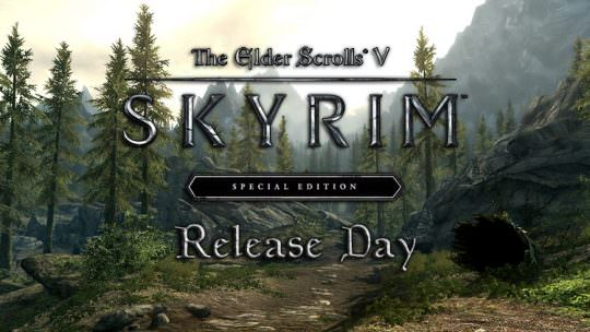 Skyrim Special Edition Now Available For All Platforms