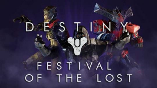 Destiny's Festival of the Lost Coming October 25th, Xur Location & Inventory