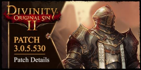 New Early Access Patch Available For Divinity Original Sin 2