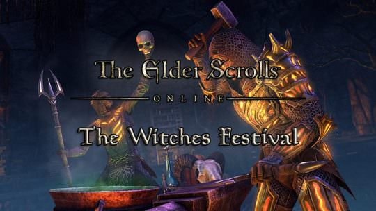 The Witches Festival in The Elder Scrolls Online Begins Tomorrow