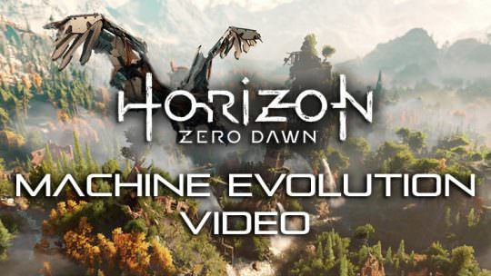 New Horizon Zero Dawn Dev Diary Explores How the Machine Designs Evolved