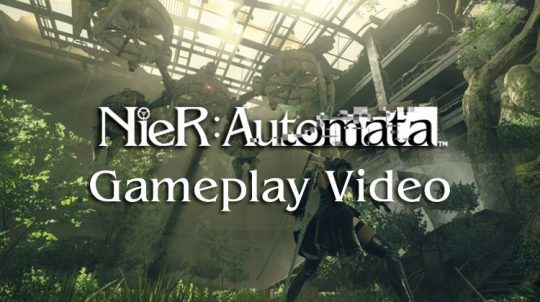 Square Enix & Plantinum Games Show 30 Minutes of Nier Gameplay Footage