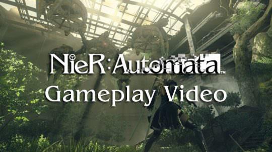 Square Enix & Plantinum Games Show 30 Minutes of Nier Gameplay Footage