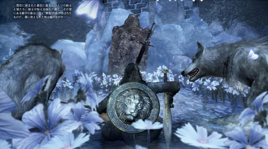 Ashes of Ariandel Screenshots & Lore via Famitsu (DKS3 DLC)