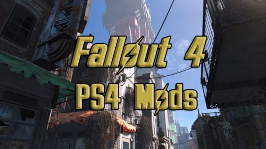 New Fallout 4 Update Brings Mods to PS4, PS4 Pro Support Next