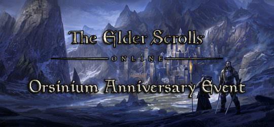 The Elder Scrolls Online Announces Orsinium Anniversary Event