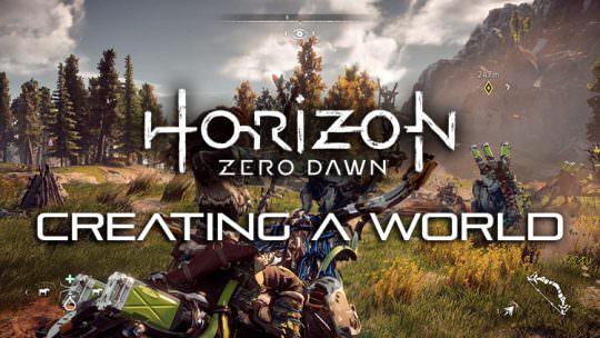 New Horizon Zero Dawn Video Explores the Creation of the World