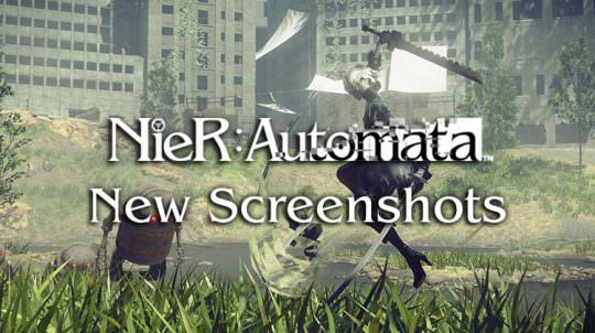 Square Enix Releases New Nier: Automata Screenshots