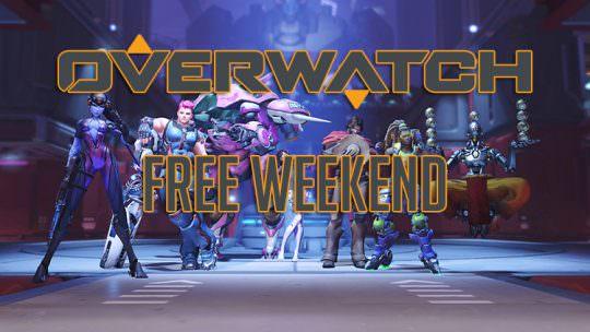 Overwatch Free Weekend is Coming