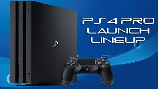 Sony Reveals PS4 Pro Launch Lineup & Upcoming Titles Like Nioh, Horizon Zero Dawn and Final Fantasy XV