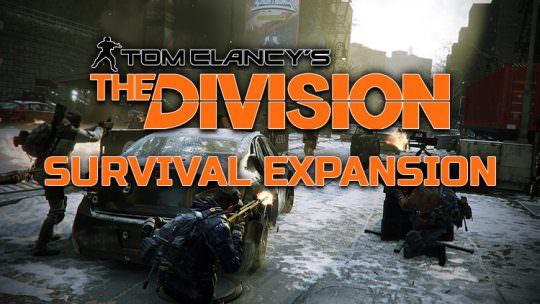 The Division's Survival Expansion & Update 1.5 Now Available on Public Test Server