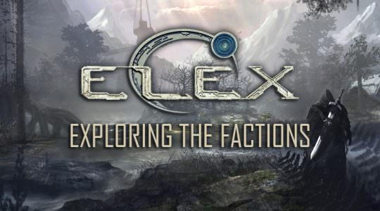 Exploring the Factions in Elex
