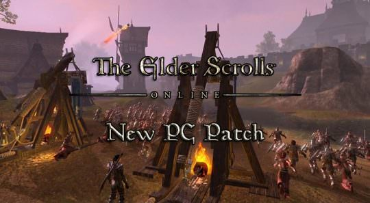 New Patch Released for the Elder Scrolls Online on PC
