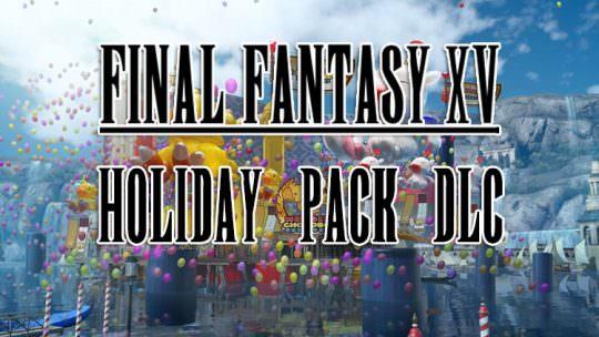 Final Fantasy XV Holiday Pack DLC Coming Next Week