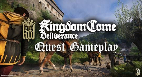 Watch Kingdom Come Deliverance's Dynamic Questing in Action