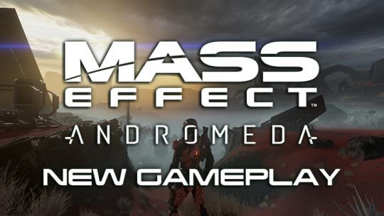 Mass Effect Andromeda Shows New Extended Gameplay