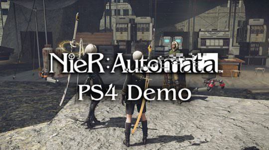 Nier: Automata Demo Coming to PS4