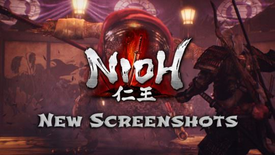 Nioh Releases New Screenshots
