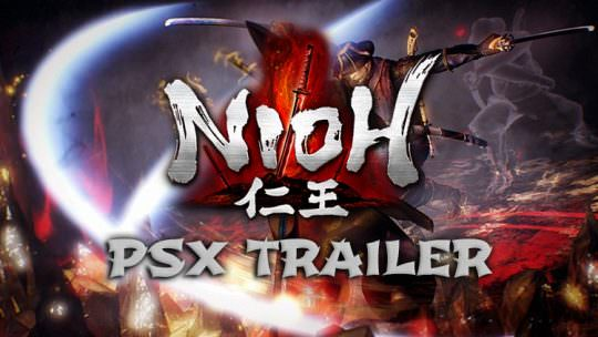 Nioh Releases New Trailer at the Playstation Experience