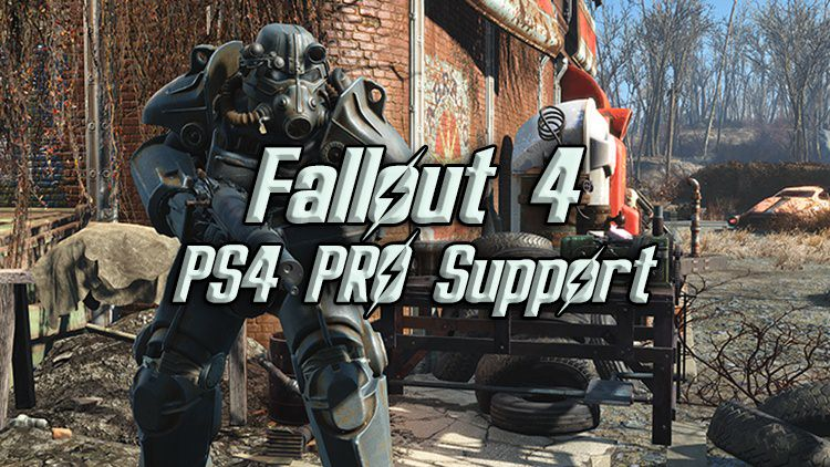 fallout 4 ps4 pro support coming next week  high res