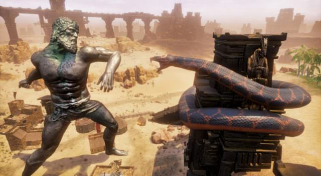 Conan exiles new update lets you kill gods fextralife you can also protect your buildings with the new defensive domes which project out from your citys altar if its the highest tier has an arch priest forumfinder Images