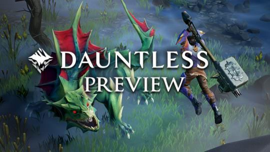 Dauntless Preview: Big Game Hunting