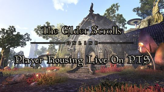 The Elder Scrolls Online's Homestead Player Housing Now On PC Public Test Server