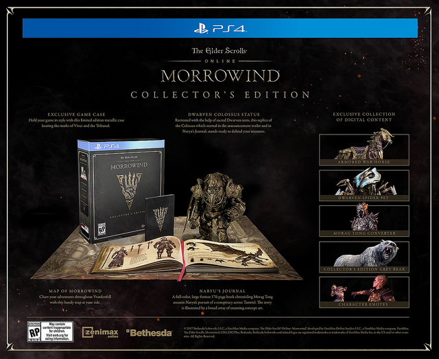 eso-morrowind-collector