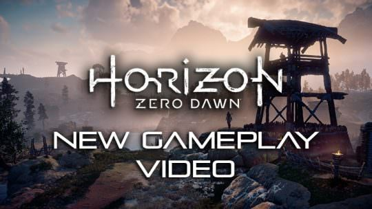 Horizon Zero Dawn Releases New Gameplay Video, Details World and Questing