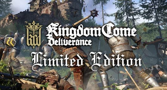 Kingdom Come Deliverance's Limited Edition Comes With a Sword. Yes a Sword.