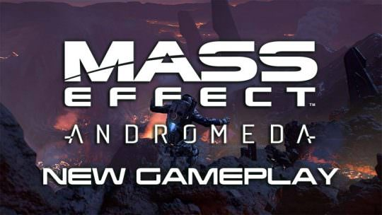 Mass Effect Andromeda Shows New Gameplay Video at CES
