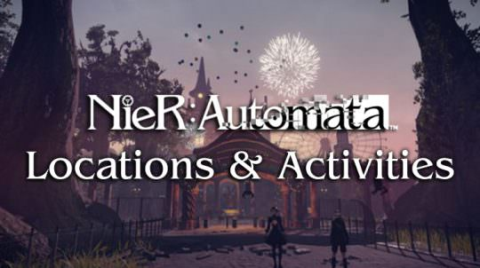 Nier: Automata Releases New Details & Screenshots of Locations & Activities