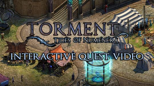 Torment: Tides of Numenera Releases New Interactive Video That Lets You Complete a Quest!