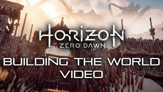 Horizon Zero Dawn Video Explores the Development of The Game's World