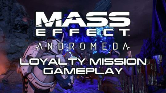 Mass Effect: Andromeda Gameplay Video Plays Through Peebee's Loyalty Mission