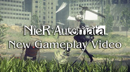 Nier: Automata: 25 Minutes of New Gameplay & More Info on Skills, Quests, Mechanics