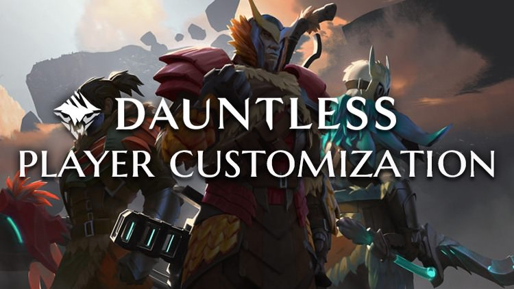 Dauntless Details Player Customization for Armor, Flares, Banners & More