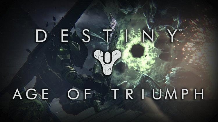 Destiny Details Age of Triumph Activities