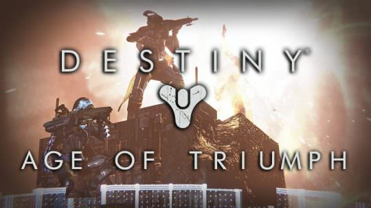 Destiny Age of Triumph Spring Update Revealed, Changes to Raids, Record Book & More