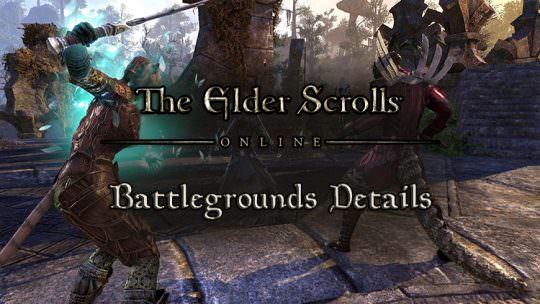 Elder Scrolls Online Morrowind PvP Battlegrounds Detailed