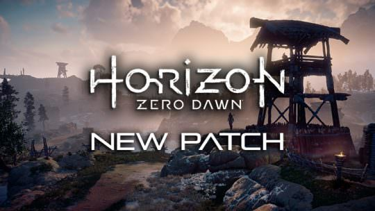 Horizon Zero Dawn Patch Fixes Crashing & Progression Errors