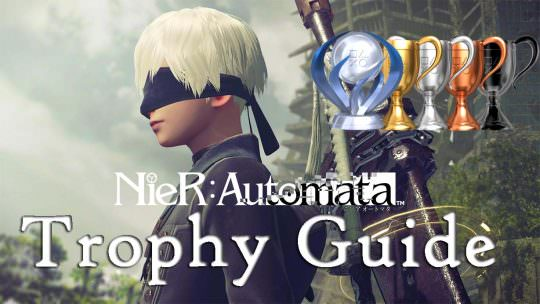 Nier: Automata Trophy Guide & Roadmap
