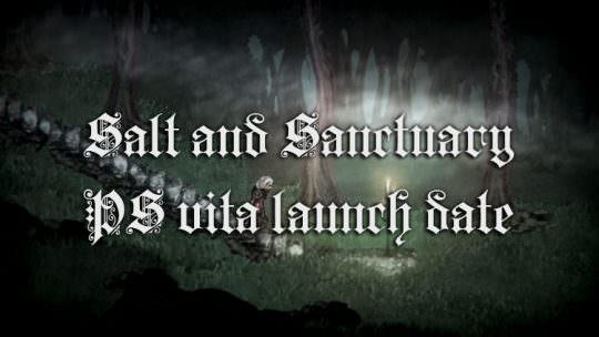 Salt and Sanctuary Coming to Playstation Vita on March 28th