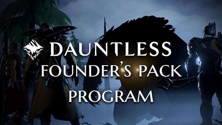 Dauntless Details Founder's Pack Program That Guarantees Closed Beta Access